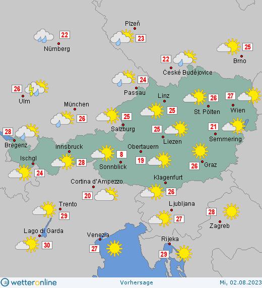 Morgen Wetterbericht