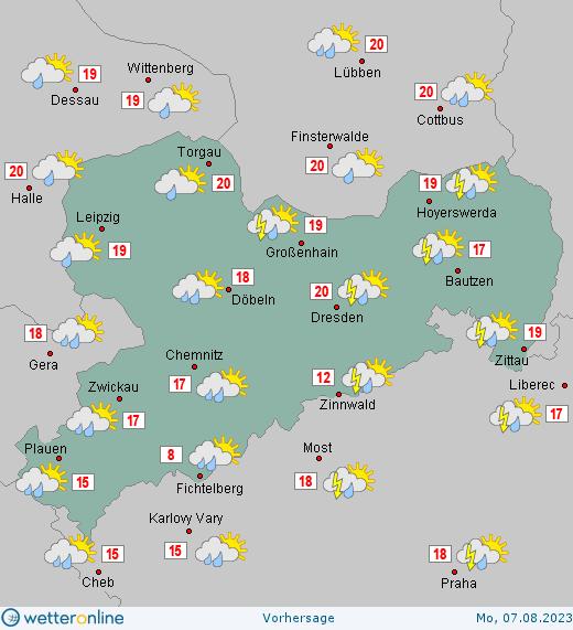 Wetter Sachsen