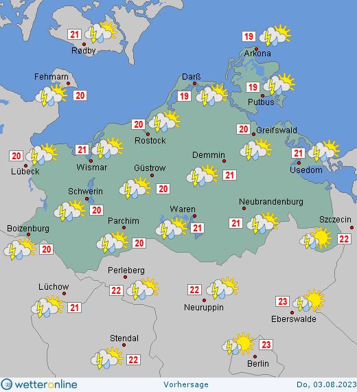 Wetter Mecklenburg Vorpommern