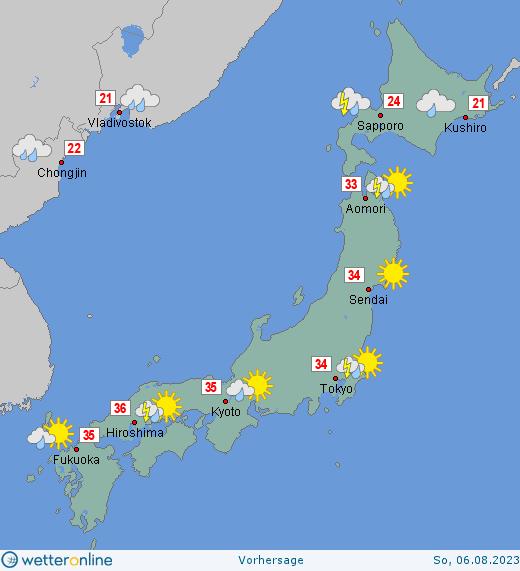 Japan Wetter