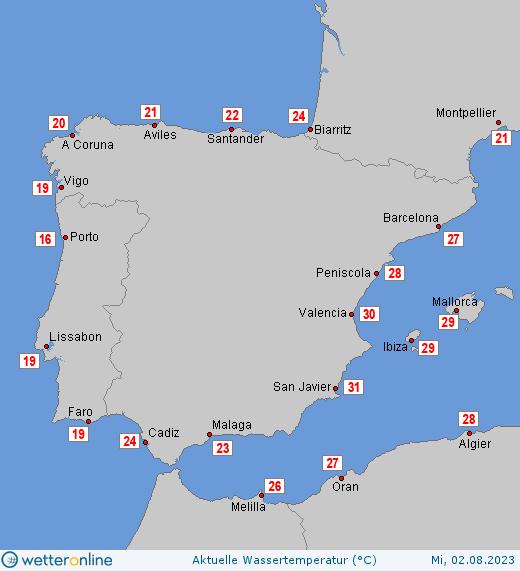 Wassertemperatur Ostsee Aktuell