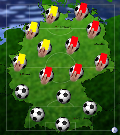 gelbe karten europameisterschaft